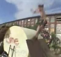 BMX extremo caida