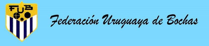 FEDERACIÓN URUGUAYA DE BOCHAS