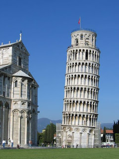 Seven Wonders of the Medieval World - leaning tower of pisa