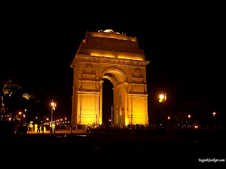india gate at new delhi the capital of india