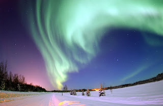 The Aurora Borealis, or Northern Lights