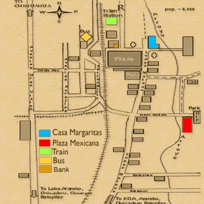 Creel Map