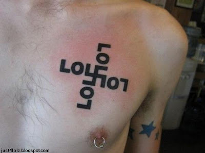 funny nazi lol tattoo