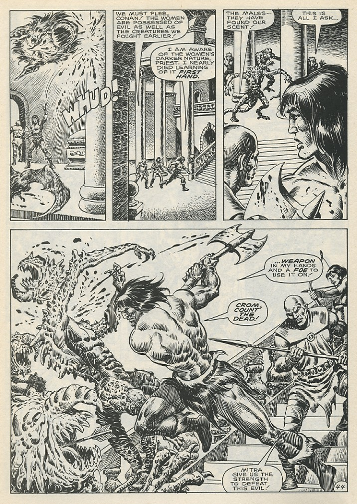 The Savage Sword Of Conan Issue #141 #142 - English 50