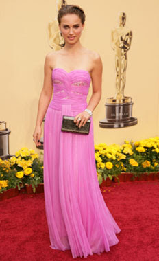 Vestido Natalie Portman en los Oscar