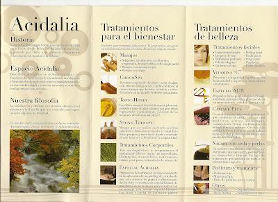 centro de salud y belleza:Acidalia