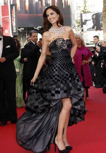 Eugenia Silva en Cannes