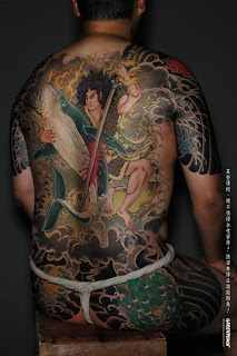 Group Japanese Tattoo
