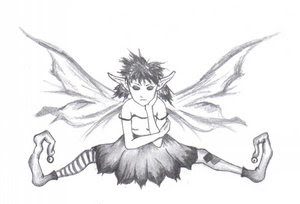 Fairy Tattoo Designs 2
