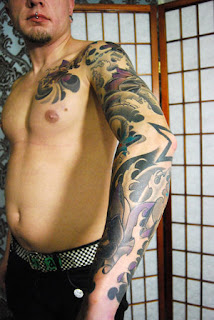 Beautiful Art of Japanese Tattoos Especially Sleeve Tattoo Designs With Image Japanese Sleeve Tattoo Picture 1
