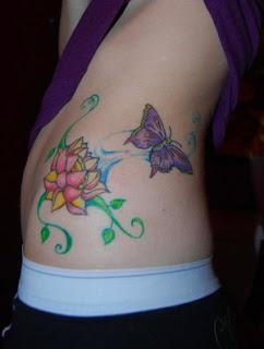 Side Body Tattoo Ideas With Butterfly Tattoo Design With Image Side Body Butterfly Tattoo For Women Tattoo