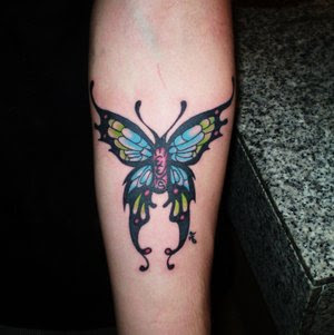 Arm Tattoo Ideas With Butterflies Tattoo Designs Especially Picture Arm Butterflies Tattoos Gallery 5