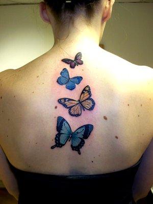 upper back tattoos. upper back tattoo designs