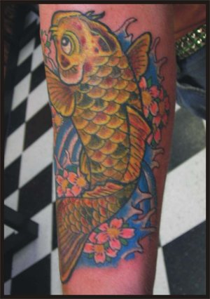 Arm Japanese Tattoos Picture With Koi Fish Tattoo Designs With Image Arm