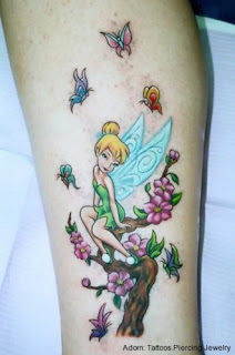 Calf Tattoo Pictures Especially Fairy Tattoo Designs With Image Calf Fairy Tattoo Gallery 4
