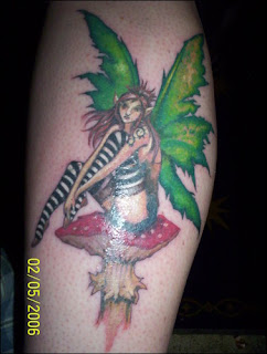 Calf Tattoo Pictures Especially Fairy Tattoo Designs With Image Calf Fairy Tattoo Gallery 2