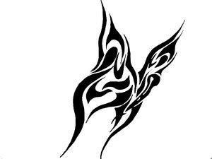 Tribal Tattoo Ideas Especially Butterflies Tattoo Designs With Picture Tribal Butterflies Tattoo Gallery 1