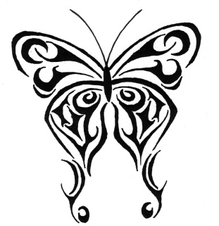 Tatto on Tattoos Galleries  Tribal Tattoo Ideas Especially Butterflies Tattoo
