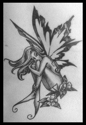 fairies tattoos8 Fairy Tattoo Designs