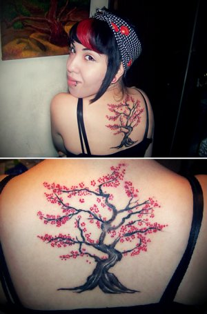cherry tree tattoo meaning. cherry tree tattoo meaning.