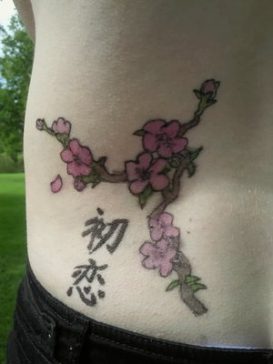 Lower Back Japanese Tattoos With Image Cherry Blossom Tattoo Designs