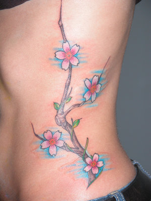 cherry blossom tattoo. Cherry Blossom Tattoo
