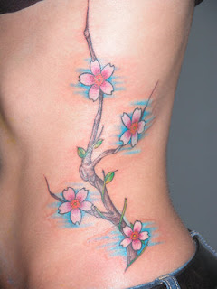 Lower Front Japanese Tattoos With Image Cherry Blossom Tattoo Designs Especially Lower Front Japanese Cherry Blossom Tattoos For Female Tattoo Gallery 7