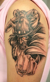 Shoulder Viking Tattoo Design 2