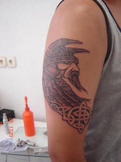 Shoulder Viking Tattoo Design 7