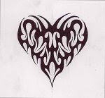 Tribal Tattoos With Image Heart Tribal Tattoo Designs Picture 3