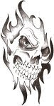 Tribal Tattoos With Image Skull Tribal Tattoo Designs Picture 1