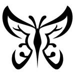 Tribal Tattoos With Image Butterfly Tribal Tattoo Designs Picture 2