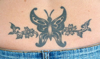 Lower Back Tattoos With Image lower Back Butterfly Tattoo Designs With Tribal Butterfly Tattoo Picture 4