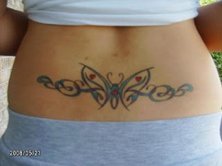 Lower Back Tattoos With Image lower Back Butterflt Tattoo Designs With Tribal Butterfly Tattoo Picture 1