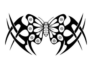 Lower Back Tattoos With Image Lower Back Butterfly Tattoo Designs With Butterfly Tribal Tattoo Picture 10