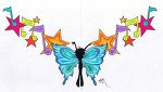 Lower Back Tattoos With Image Tattoo Designs Butterfly Tattoos Picture 8