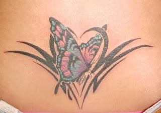 Lower Back Tattoos With Image Lower Back Butterfly Tattoo Designs For Female Tattoo Picture 5