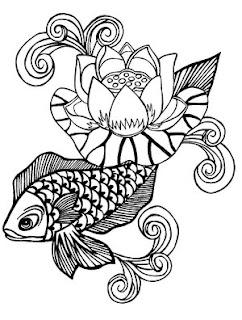Beautiful Koi Fish Tattoo Designs 4