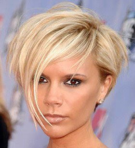 Victoria Beckham Short Hair Cut