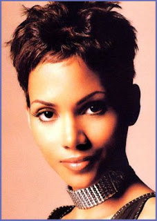 Halle Berry Short Hair Style