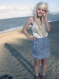 Long Blonde Emo Hairstyle, Emo Hair, Emo Long Hair, Emo Hairstyles, Emo Blonde Hair, Emo Girls Hair,