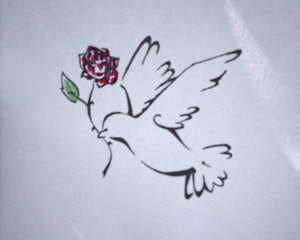 Dove Tattoo Design 2