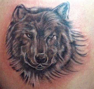Wolf Tattoo Design 6