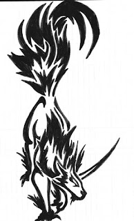 Wolf Tattoo Design 5
