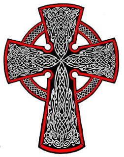 Celtic Cross Tattoo Design 5