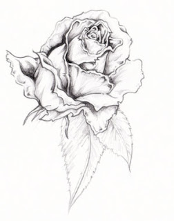 Flower Rose Tattoo Design 5