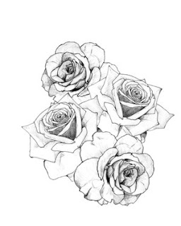 Flower Rose Tattoo Design 4