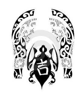Tribal Maori Tattoo Design
