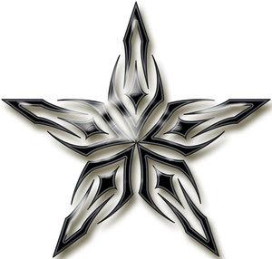 Star Tattoo Design 2