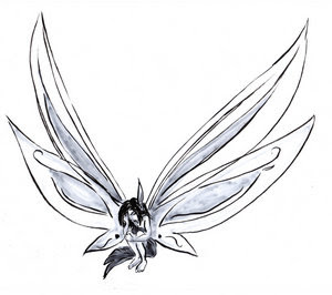 Beautiful Art of Tattoos Design With Image Fairy Tattoo Design Picture 1